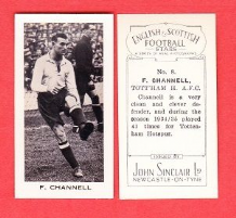Tottenham Hotspur Fred Channell